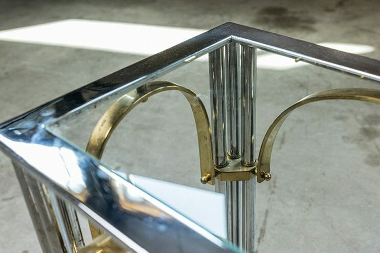 Vintage Glass Tables